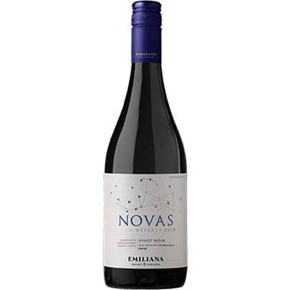 Vinho Chileno Emiliana Novas Orgânico Pinot Noir 750ml