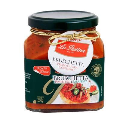Bruschetta La Pastina Pimenta Jalapeno 280g