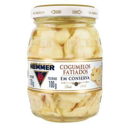 Cogumelo Hemmer Fatiado 100g