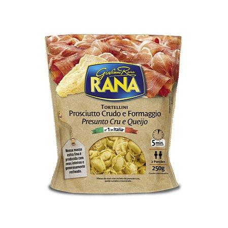 Massa Italiana Rana Presunto Cru com Queijo 250g