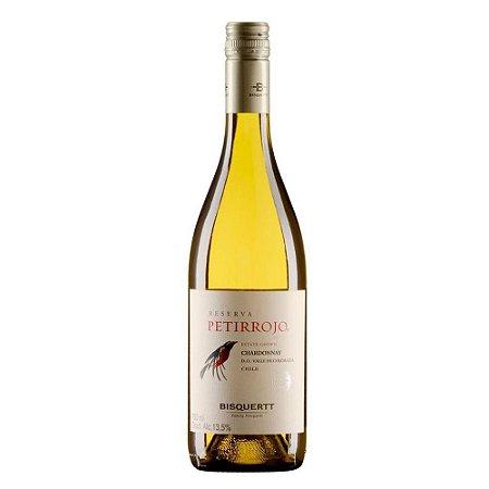 Vinho Chileno Petirrojo Chardonnay 750ml