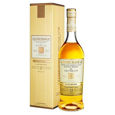 Whisky Escocês Glenmonangie Nectar 12 Anos Extra Matured 750ml