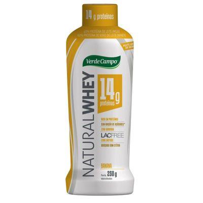 Iogurte Natural Whey 14 Verde Campo Banana 250g