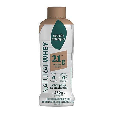 Iogurte Natural Whey 21 Verde Campo Pasta Amendoim 250g