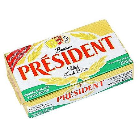 Manteiga Francesa President C/Sal Tablete 200g