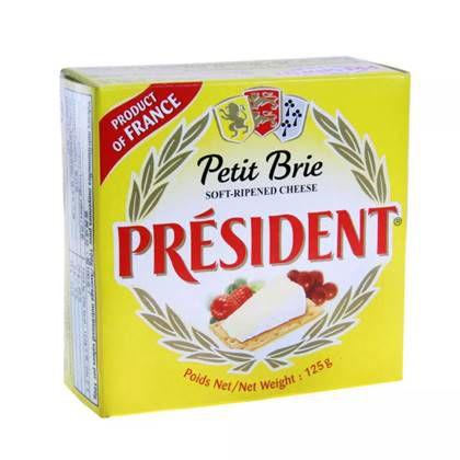 Queijo Brie Francês President 125g