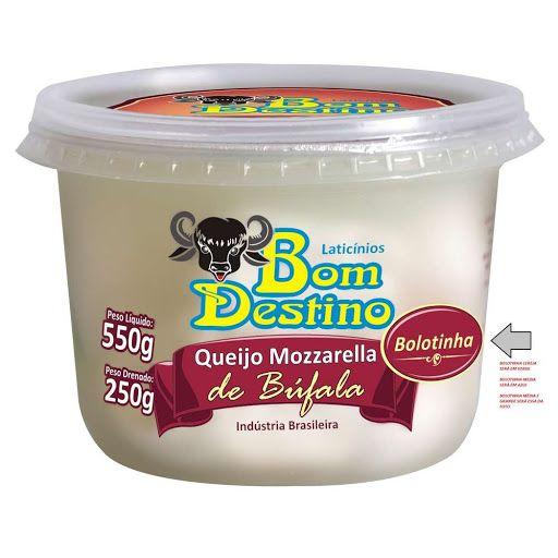 Queijo Muçarela Bufala Bola Bom Destino 250g