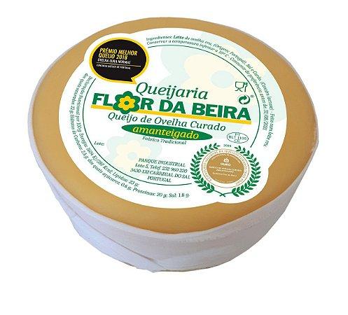 Queijo Ovelha Amanteigado Português Flor Da Beira Curado 600g
