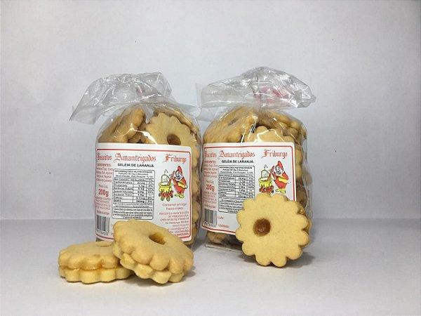 Biscoito Amanteigado Friburgo Géleia de Laranja 200g