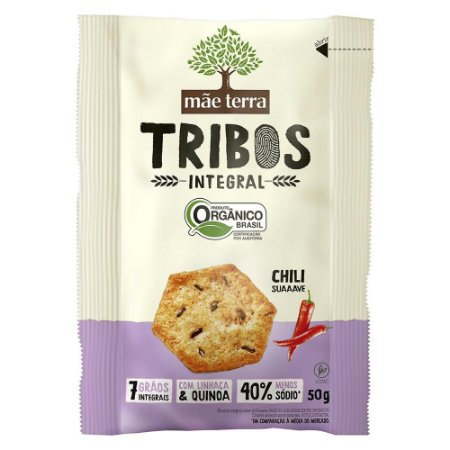 Biscoito Mãe Terra Tribos Orgânico Chili 50g