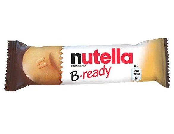 Biscoito Ferrero Nutella Wafer B-Ready 22g