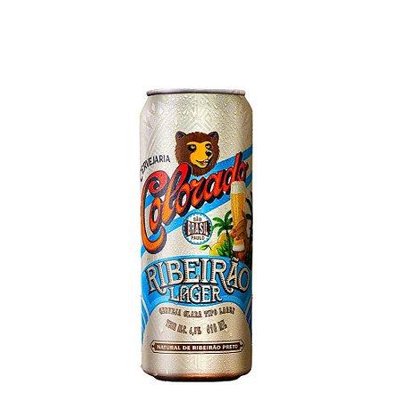 Cerveja Colorado Lager Lata 410ml