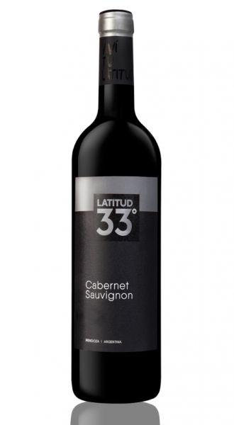 Vinho Argentino Latitud 33 Cabernet Sauvignon 750ml