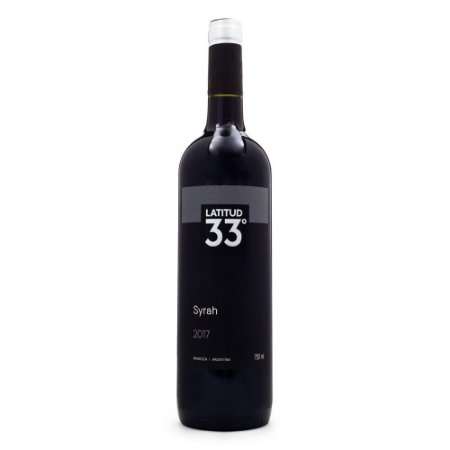 Vinho Argentino Latitud 33 Syrah 750ml