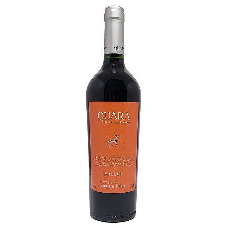 Vinho Argentino Quara Malbec Reserva 750ml