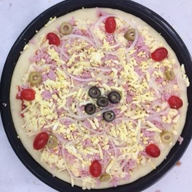 Pizza Portuguesa Tradicional Resfriada 450g