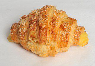 4 Mini Croissant Assado de Peito de Peru (Aproximadamente 20g Cada)