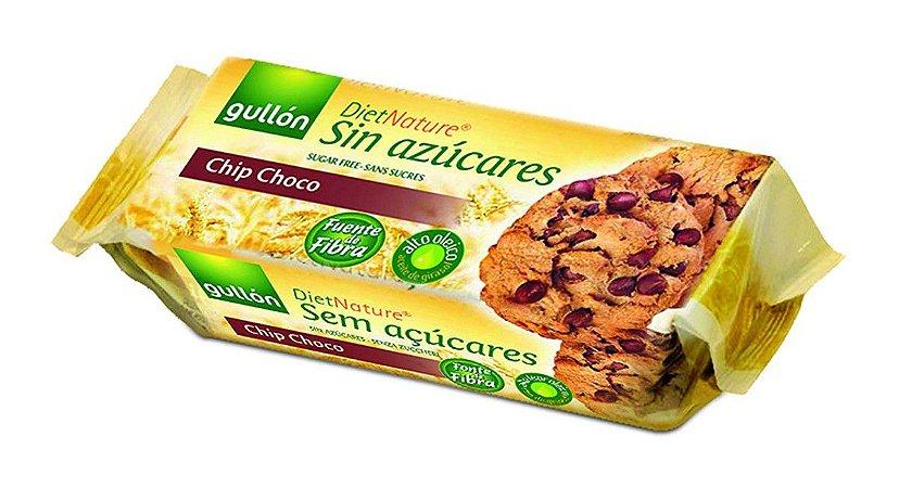 Biscoito Espanhol Gullon Sugar Free Chip Choco 150g