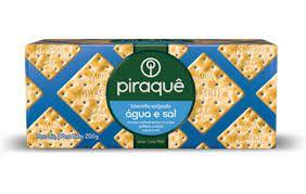 Biscoito Piraque Agua e Sal 200g