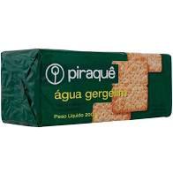 Biscoito Piraque Agua Gergelim 240g