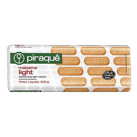 Biscoito Piraque Maizena Light 200g