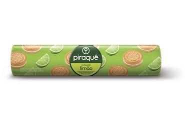 Biscoito Piraque Recheado Limão 160g