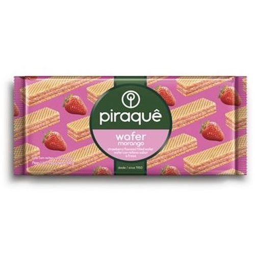 Biscoito Piraque Wafer Morango 160g