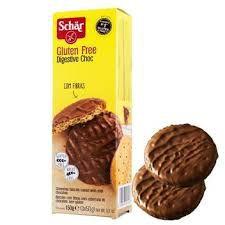 Biscoito Schar Digestive Chocolate 150g