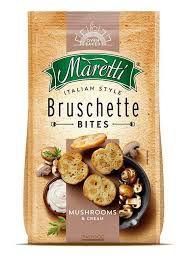 Bruschette Maretti Mushrooms & Cream 90g