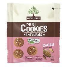 Cookies Mãe Terra Orgânico Integral Cacau/Castanha Pará 120g