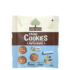 Cookies Mãe Terra Orgânico Integral Catanhas 120g