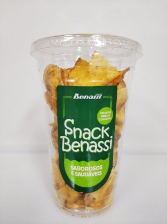Snack Batata Doce Desidratada Benassi 120g