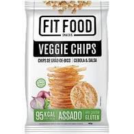 Veggie Chips Grao Bico Fit Food Cebola e Salsa 40g