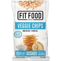 Veggie Chips Grao Bico Fit Food Flor De Sal 40g