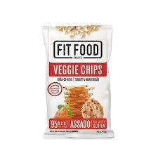 Veggie Chips Grao Bico Fit Food Tomate/Manjericão 40g