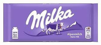 Chocolate Milka Alpine Milk 100g