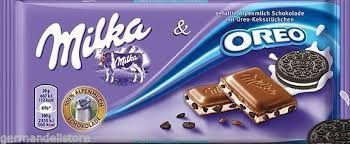 Chocolate Milka Oreo 100g