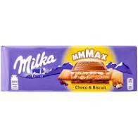 Chocolate Milka Rech Choco e Biscuit 300g