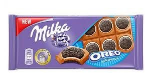 Chocolate Milka Oreo Sandwich 92g