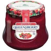 Geleia Queensberry Diet Frutas Vermelhas 280g