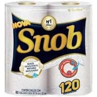 Papel Toalha Snob Branco C/2 Rolos