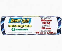 Saco Lixo Dover Roll Reforcado 100 litros C/10Un
