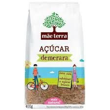Açúcar Demerara Mãe Terra 400g