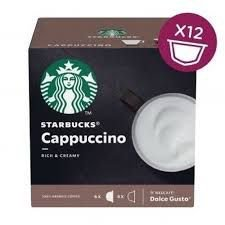 Cápsulas Cappuccino Starbucks C/12 120g