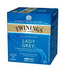 Chá Preto Twinings Classics Lady Grey 20g