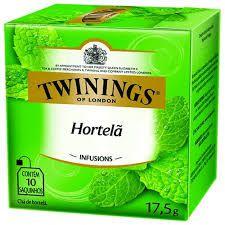 Chá Twinings Infusions Hortela 17,5g