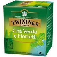 Chá Verde Twinings Hortelã 20g