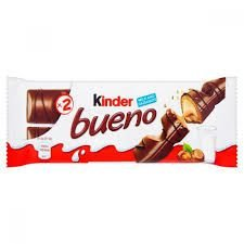 Chocolate Kinder Bueno Wafer Chocolate Ao Leite 43g