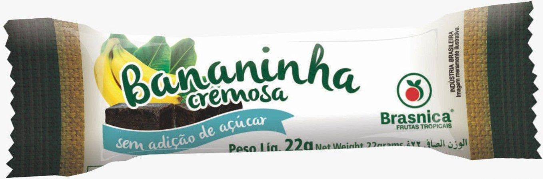 Doce Bananinha Brasnica Sem Acucar 22g