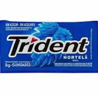 Goma Trident Hortela 8g